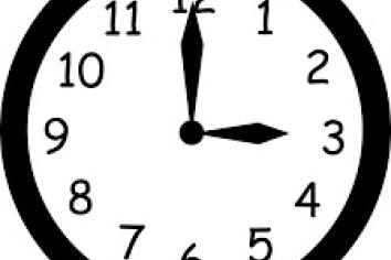 Don't Forget - Clocks Forward This Weekend.