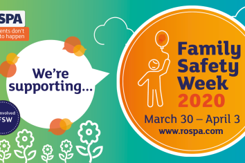 Family safety week - how to stay safe indoors when our time outdoors is limited