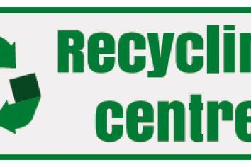Confirmation of more recycling centres to open