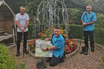 Hospice trio to tackle Mourne Wall Challenge