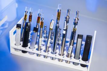 Cannabis vaping warning issued