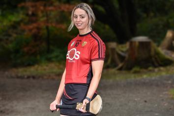 Liatroim's camogie star takes 'Aim' at All Ireland glory
