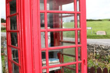 It's your call - would you like to adopt an old red phone box?