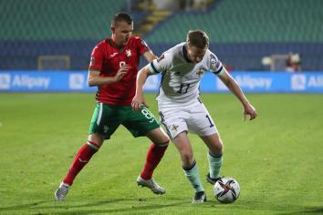 A tale of two halves as NI beaten in Bulgaria