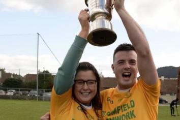 Clonduff hurlers dedicate win to team mate