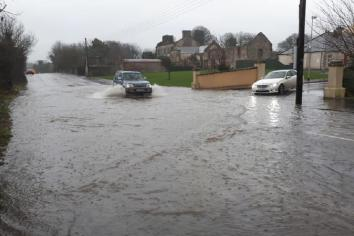 NI Water get to 'root' of Hilltown flooding problem