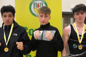 Rathfriland boxing club enjoys success at the Sixes