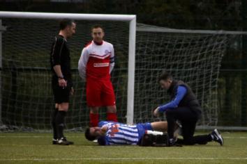 Moneyslane match abandoned after player injured