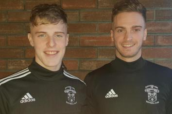 Family ties as Annett brothers sign for Rathfriland Reserves