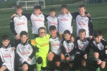 A well-deserved victory for Rathfriland U12s