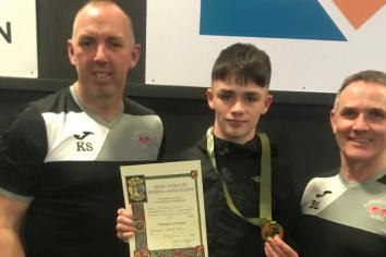 Rathfriland's Donagh is champion of Ireland