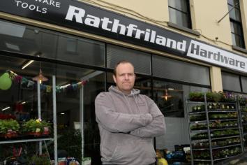 Rathfriland businessman warns others to be vigilant following burglary