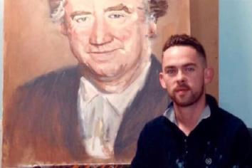 Lord Ballyedmond's son praises artist for his portrait of businessman