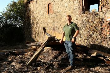 Farmers still picking up pieces after hay-shed arson attacks