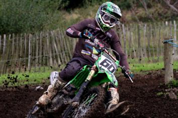 Meara jumps for joy after clinching Ulster MX1 title