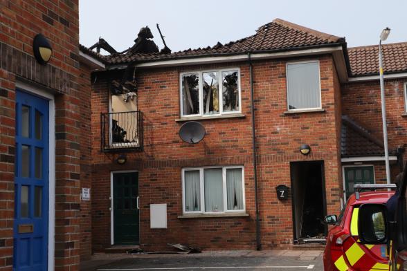 Kilkeel flat fire 'deliberate'